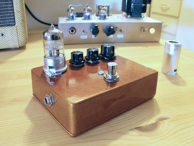Photo:Tube Overdrive Guitar Pedal By Tim Patterson