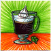 I drew you an Irish Coffee