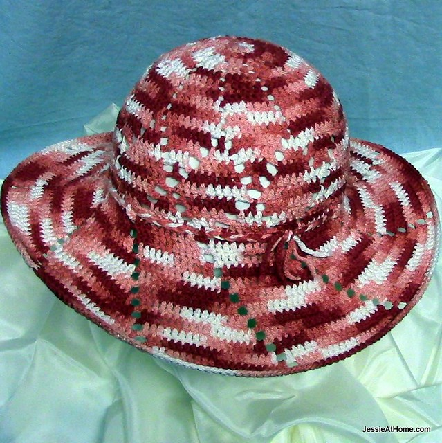 Shine On Sun Hat Free Crochet Pattern Jessie At Home