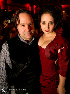 John and Eva at the Edwardian Ball 2011