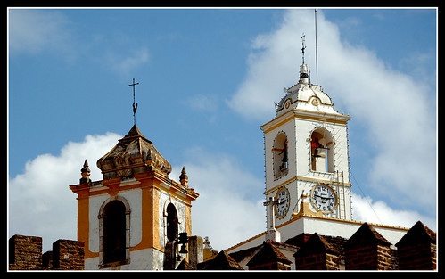 CHURCH TOWERS -(ALANDROAL/ALENTEJO/PORTUGAL)