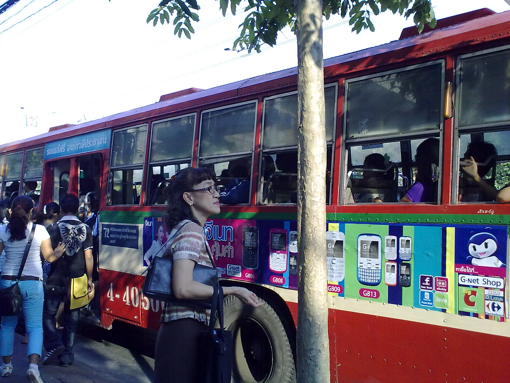 City bus in Bangkok