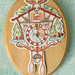 embroidered cuckoo clock! by merwing✿little dear