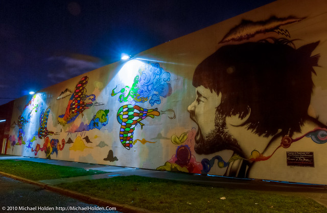 Capitol Hill Mural: Purveyors of Fine Magic
