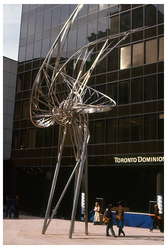 Georgia & Granville – vanished Norris sculpture
