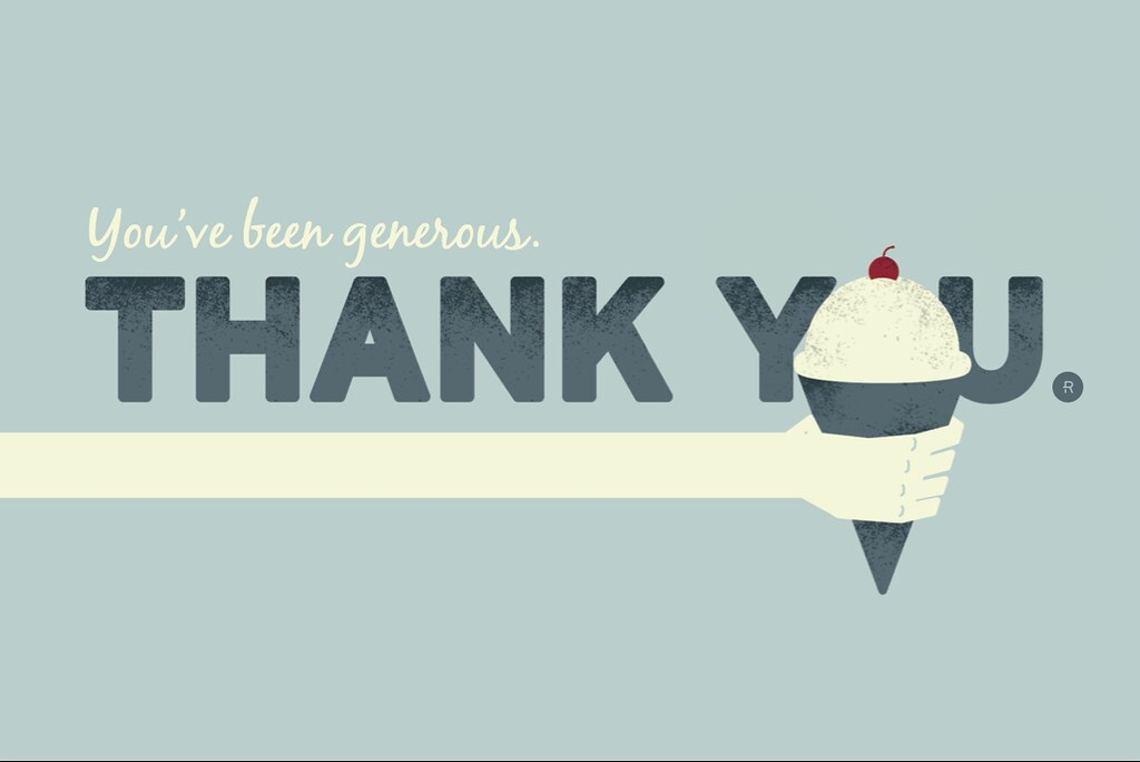 Thank you Card, by Jon Ashcroft, on Flickr