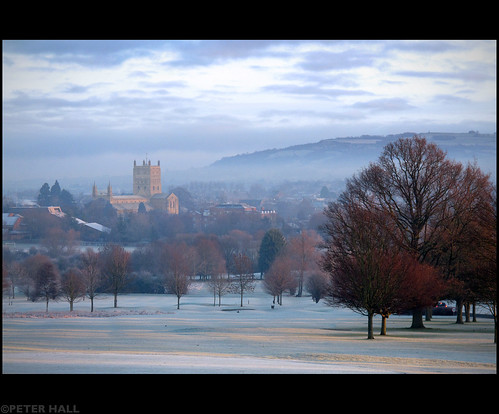 uk england cold church abbey sunrise dawn frost cathedral britain gloucestershire tewkesbury tewkesburyabbey canong12