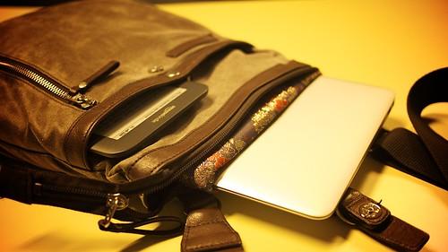 Reaching a travel bag singularity