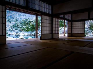 walk-through (Tenryuu-ji temple, Kyoto)