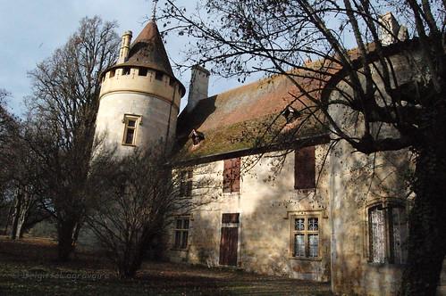 Goulens, le château