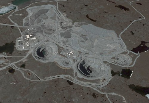 Ekati Diamond Mine - Northwest Territories, Canada