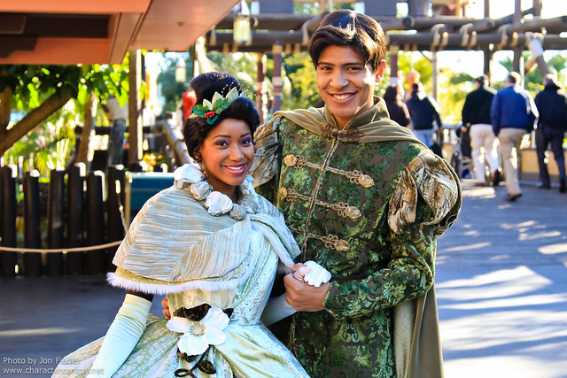WDW Dec 2010 - Meeting Tiana and Naveen