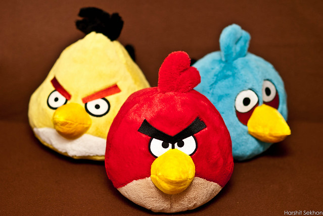 Header of Angry Birds