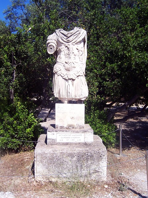 Statue of Hadrian, Ancient Agora of Athens