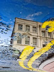 Puddle Reflections - Manchester UK