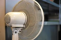 light, mechanical fan,