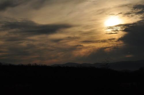 clouds sunrise geotagged virginia shanandoa