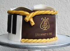Birthday Piano Cake