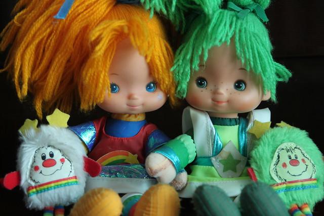 Rainbow Brite and Patty O'Green