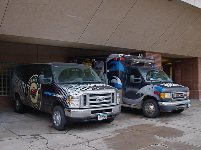 Crunch's Ambulance and FSNorth's Van