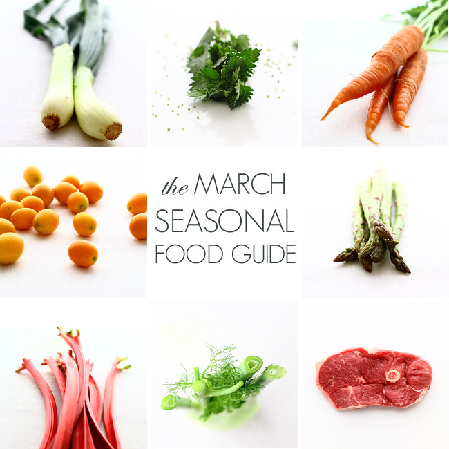 March Seasonal Food Guide