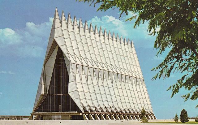 Cadet Chapel U.S. Air Force Academy Colorado