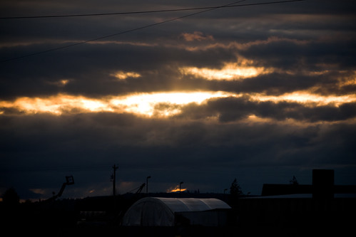 sunset clouds oregon evening skyshots stayton