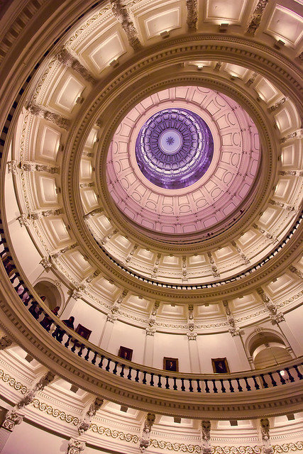 Inside the Dome, Texas Capitol Building in Austin