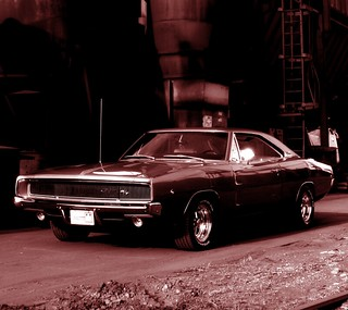 1968 Dodge Charger R/T - Merlot II Droid Wallpaper