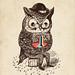 Strange Owl by Alejandro Giraldo / www.alejogiraldo.com