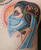 Veil Gypsy 1 Tattoo of a