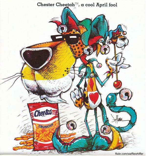 Chester Cheetah - April 1987