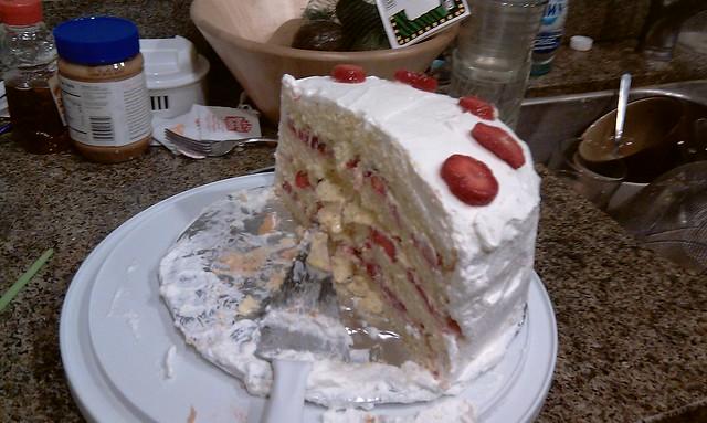 "Strawberry Custard ""Cleveland"" Cassata Cake | Flickr - Photo Sharing!"