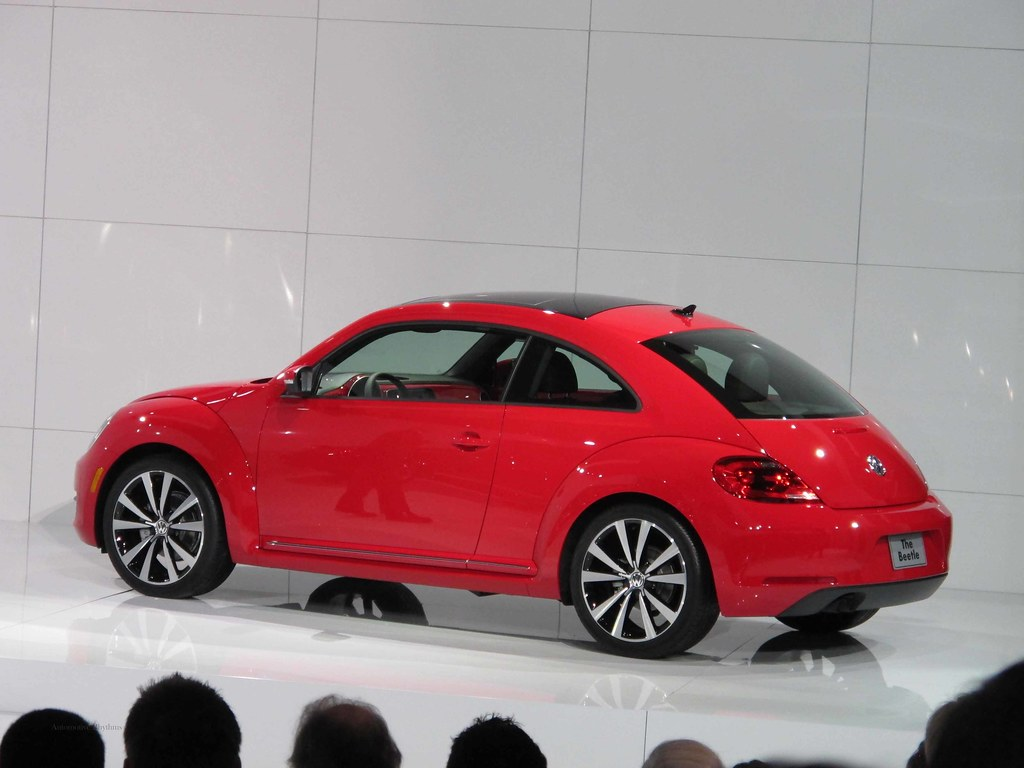 2012 VW Beetle at the New York Auto Show