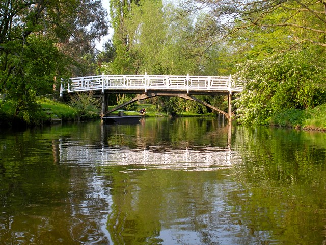 bridge on the river cherwell