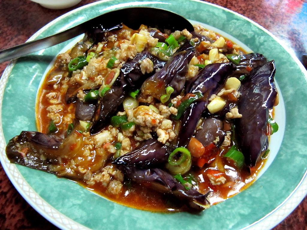 三峽阿宏小吃 - 魚香茄子