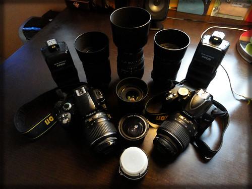 My Nikon camera gear