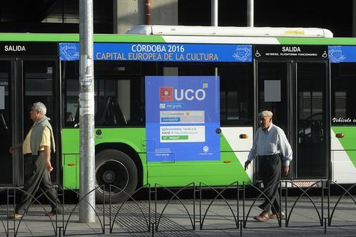 Autobus Aucorsa.