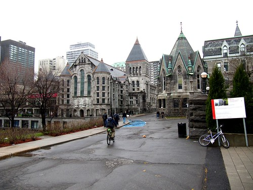 McGill University Montreal bicycle