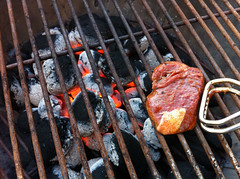 outdoor grill, roasting, grilling, barbecue, meat, churrasco food, food, dish, iron, cuisine, barbecue grill, cooking,