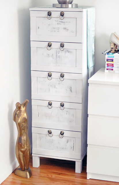 Schreibtisch Ikea Galant Buche ~ Ikea Dresser Hack+Ikea chest of drawers makeover  Flickr  Photo