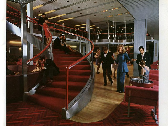 Rms queen elizabeth 2 archive photos of her interiors and artwork flickr photo sharing for Queen elizabeth 2 ship interior