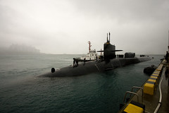 USS Michigan port visit to Busan, ROK