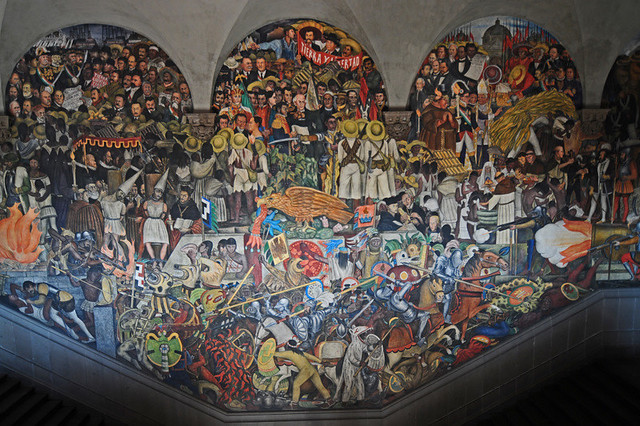 Mural diego rivera palacio nacional flickr photo sharing for Diego rivera lenin mural