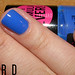 Australis Nail Colour - Blue Tiger by lextard