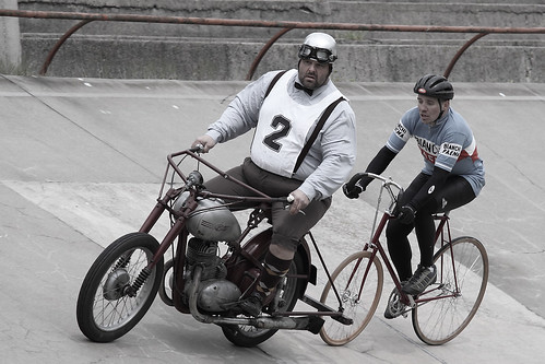 Steher motorcycle and bicycle