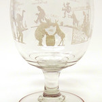 1933 Repeal of Prohibition Footed Glass Bowl