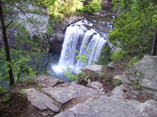 waterfall tn pikeville fallcreekfallsstatepark