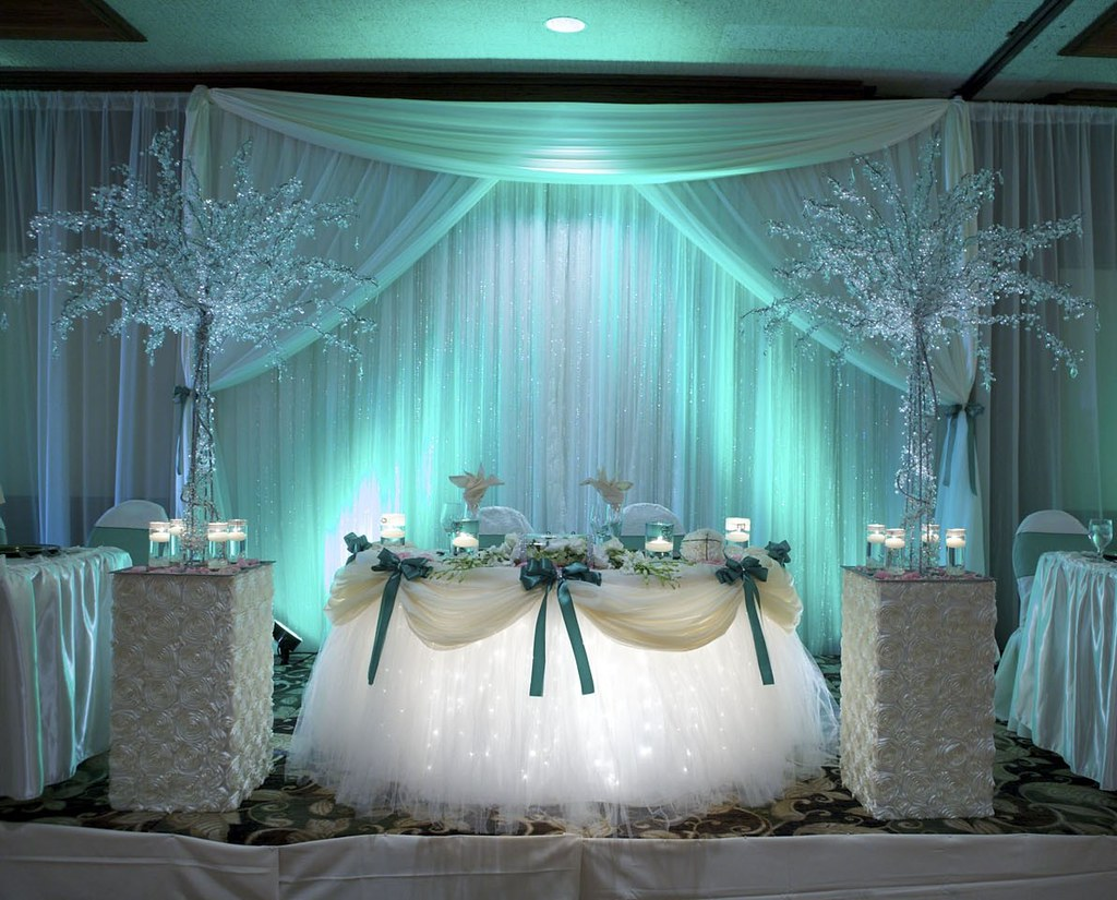 Decor By Sbd Events Sweetheart Table Decor Platinum Pack Flickr