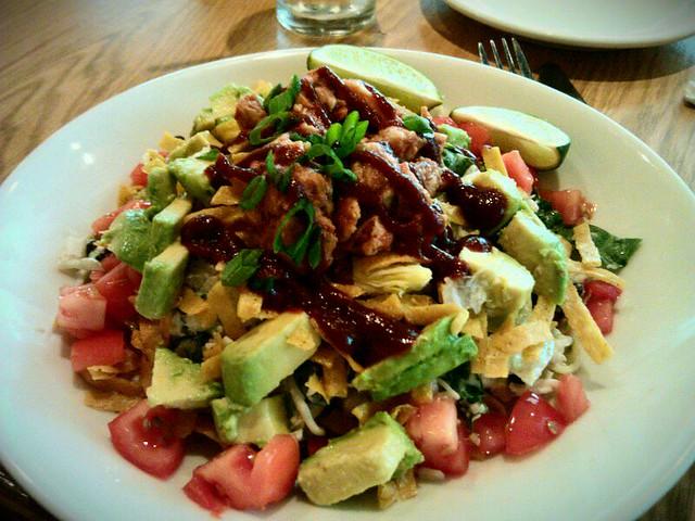 Bbq Chicken Chopped Salad California Pizza Kitchen Flickr Photo Sharing
